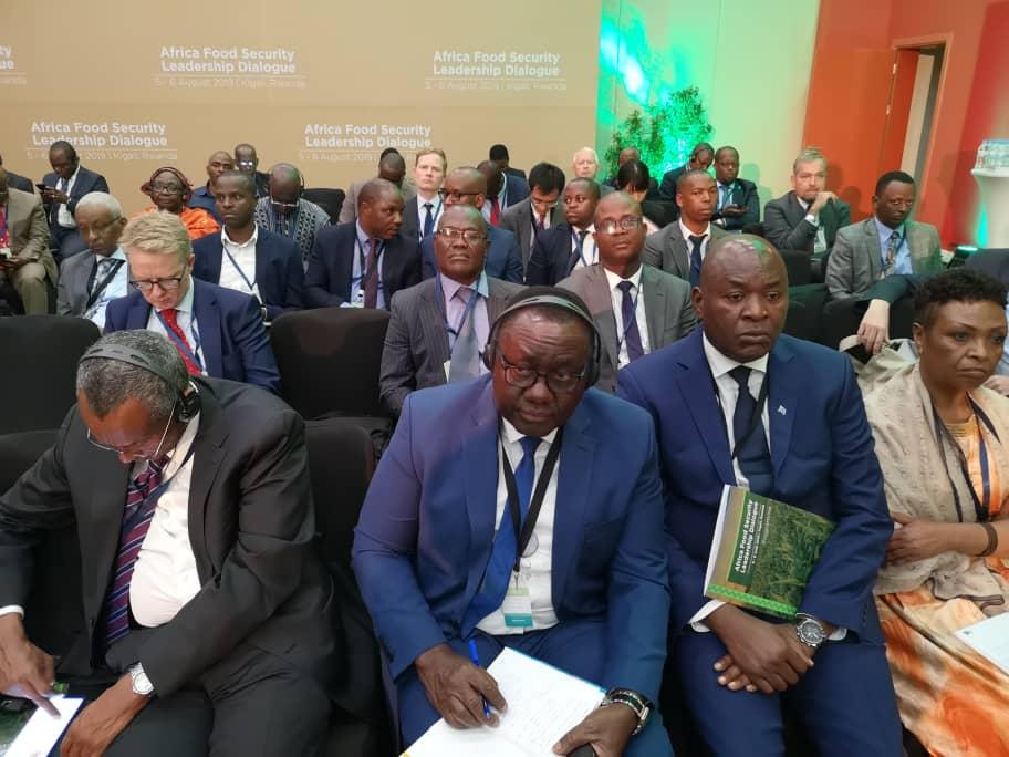 LE BÉNIN PARTICIPE AU DIALOGUE DE LEADERSHIP SUR LA SÉCURITÉ ALIMENTAIRE EN AFRIQUE.